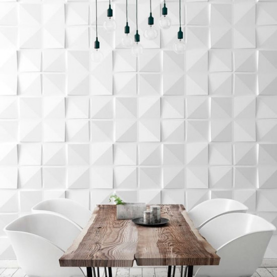 3D Wall Panel , Square