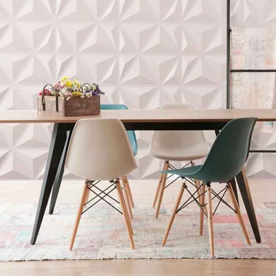 3D Wall Panel , Triangles
