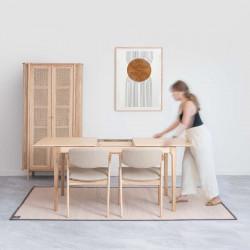 Z Chair, W46, Beige Oak