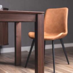NADINE Dining Chair II, Brown