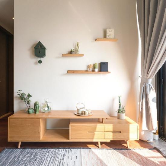 [SALE] 8GR Wall clock Modern Cuckoo jungle green