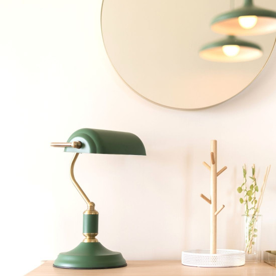 Wall Mirror Balanced - Round Rim Gold