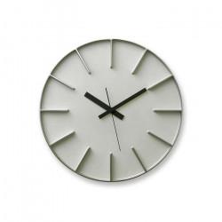 EDGE Clock - Aluminium