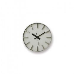 EDGE Clock - Aluminum  φ18cm
