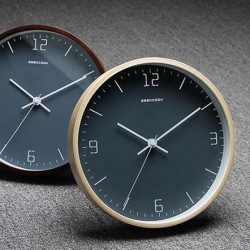 NOR Wall Clock, Natural