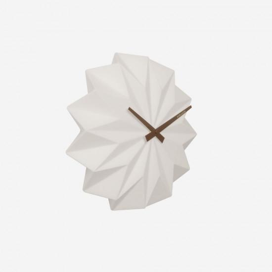 Wall Clock Origami - Ceramic [Display]