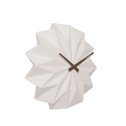 Wall Clock Origami - Ceramic [Display]