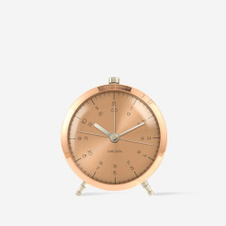 Alarm Clock Button  - Copper