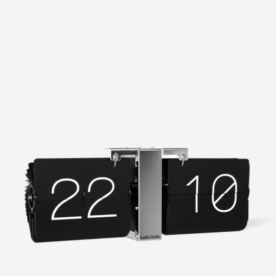 Flip Clock No Case - Black