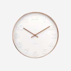[Display] Wall Clock Mr. White - Copper