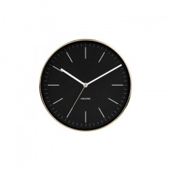 Wall Clock Minimal - Black