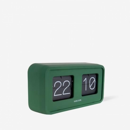 Flip Clock Bold - Green