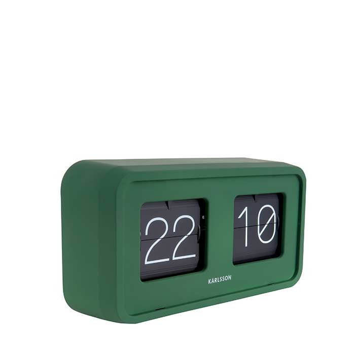 Flip Clock Bold - Green