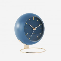 Table clock Globe - Dark Blue