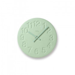 Diatomaceous earth clock - Yellow