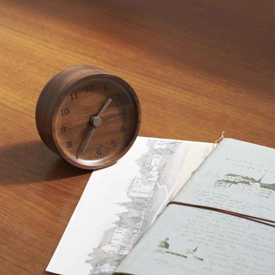 MUKU desk clock - Beech