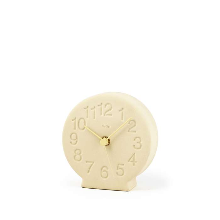 diatomaceous earth table clock