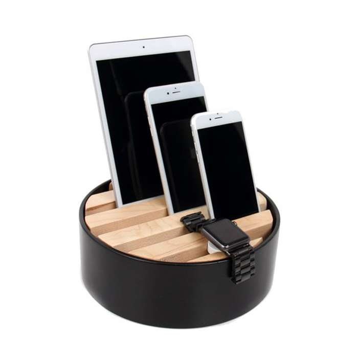 TRELLIS desktop charger - Black