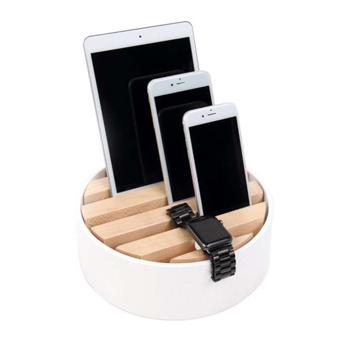 TRELLIS desktop charger - White