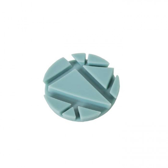 PROP coaster, aqua silicon 2pcs