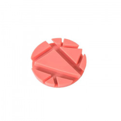 PROP coaster, coral silicon 2pcs