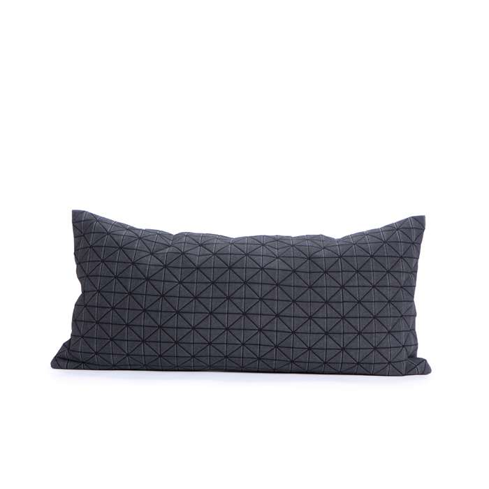 Geo origami pillow-S Black