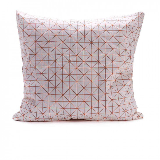 Geo origami pillow-M Orange