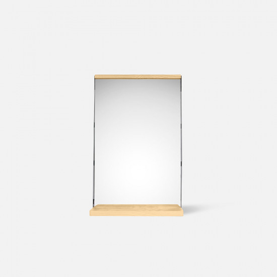 Table Mirror Simplicity - Wood