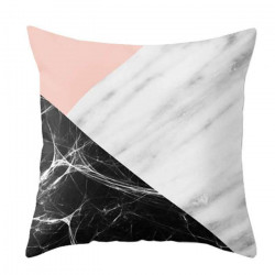 Marble Collage Cushion, 50x50cm