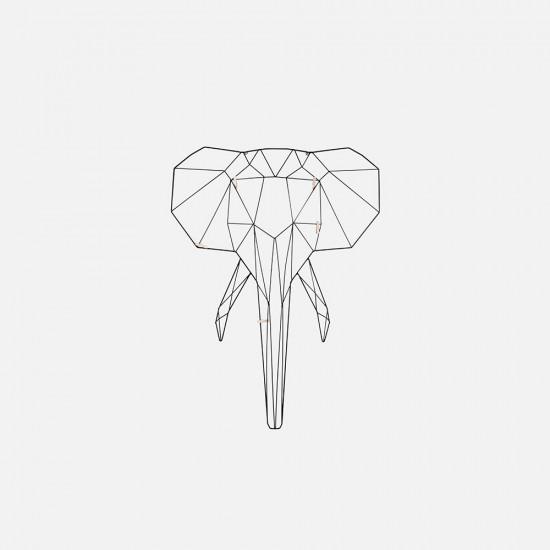 Memo Rack Linea - Elephant Black