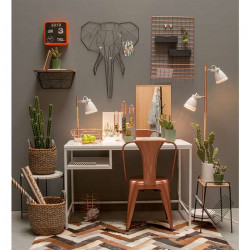 Memo Rack Linea - Elephant Black
