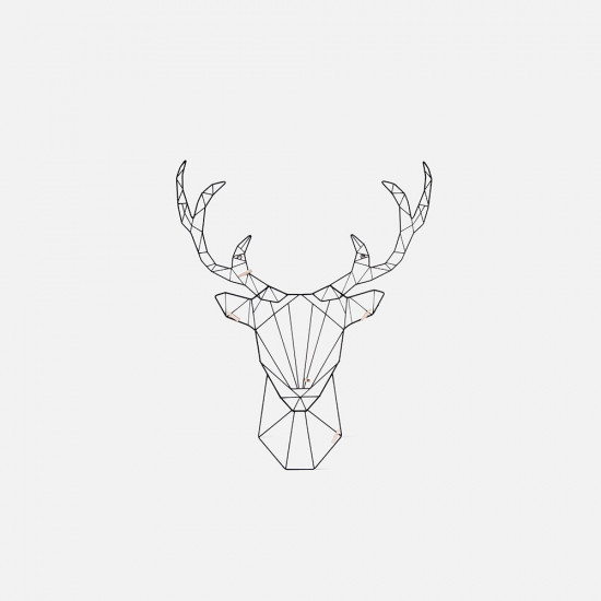 Memo Rack Linea - Deer Black