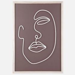 Wall art Line Drawing medium