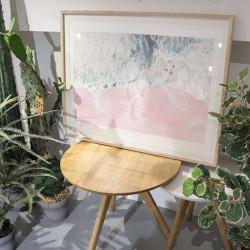 Sea of Love II, Large, Ash Wood Framed
