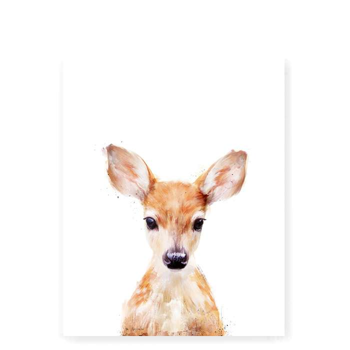Little Deer art print - Small