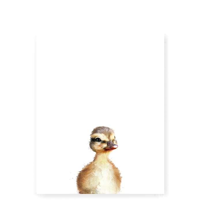 Little Duck art print - Small