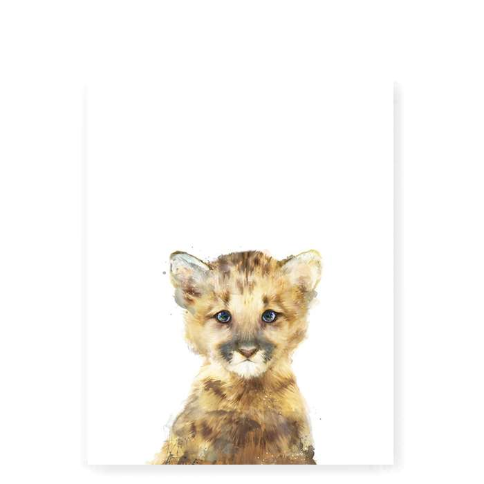 Little Lion art print - Small