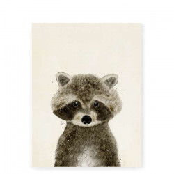 Little Raccoon II art print - Small