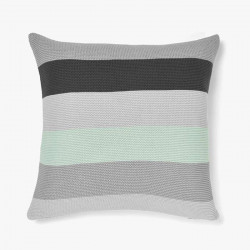 Quatro Knitted Stripe Cushion