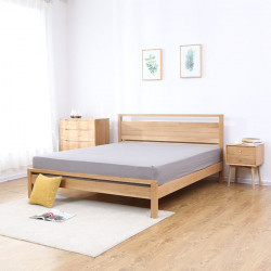 Double Dip Bed, Walnut