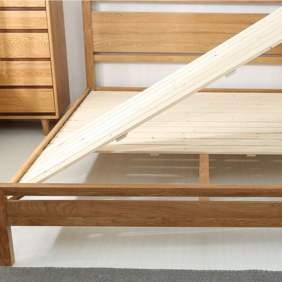 Double Dip Bed, Walnut