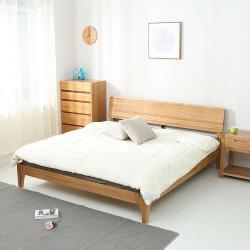 Makoto Bed L120-L180, Oak