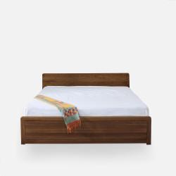 Daiki Bed, Walnut