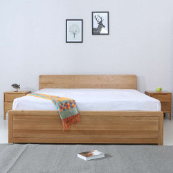 Daiki Bed, Oak