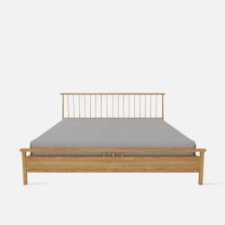Linear Bed Frame, L150/180, Oak