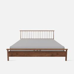 Linear Bed Frame, L150/180, Walnut