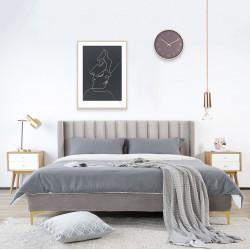 SWAN Bed Frame, L150/180, Begie