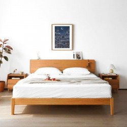 NADINE Cherry Bed Frame I, L150 / L180