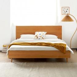 NADINE Cherry Bed Frame II, L158/188