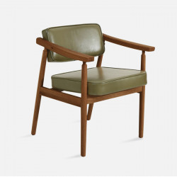 DOLCH Lounge Chair, W58, Walnut